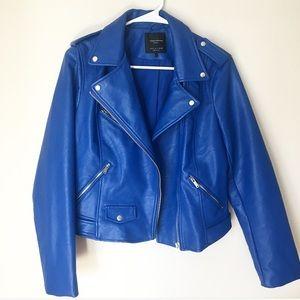 Zara Moro jacket in Royal blue